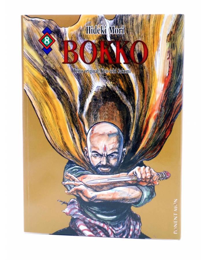 Cubierta de BOKKO 8. EN LA FRONTERA (Hideki Mori / Kenichi Sakemi) Ponent Mon 2008