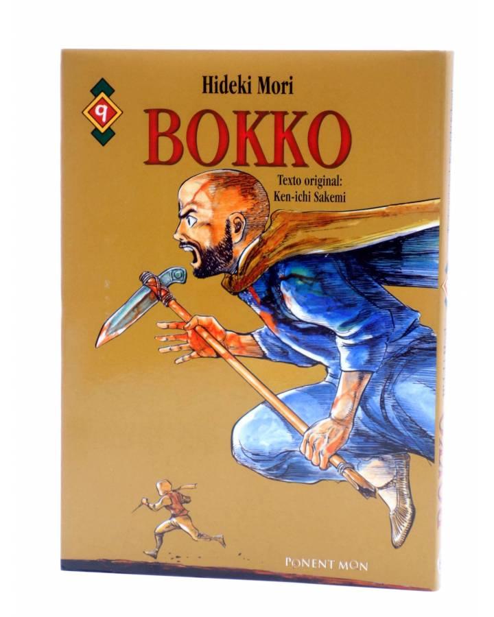 Cubierta de BOKKO 9. EL ARMA SECRETA (Hideki Mori / Kenichi Sakemi) Ponent Mon 2008