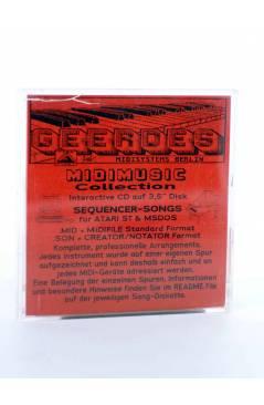 "Muestra 2 de BOOGIE DOWN (Al Jarreau) Geerdes Midisystem 1989. DISKETTE 35"". ATARI MSDOS. MIDI MUSIC"
