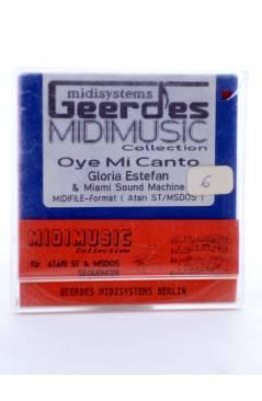 "Muestra 1 de OYE MI CANTO (Gloria Estefan) Geerdes Midisystem 1989. DISKETTE 35"". ATARI MSDOS. MIDI MUSIC"