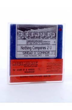"""Muestra 1 de NOTHING COMPARES 2U (Sinead O'Connor) Geerdes Midisystem 1989. DISKETTE 35"""". ATARI MSDOS. MIDI"""