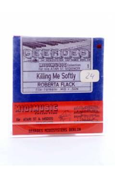 "Muestra 1 de KILLING ME SOFTLY (Roberta Flack) Geerdes Midisystem 1989. DISKETTE 35"". ATARI MSDOS. MIDI MUSIC"