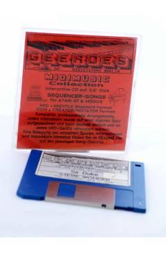 "Cubierta de SIR DUKE (Stevie Wonder) Geerdes Midisystem 1989. DISKETTE 35"". ATARI MSDOS. MIDI MUSIC"