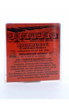 "Contracubierta de HALF A MINUTE (Matt Bianco) Geerdes Midisystem 1989. DISKETTE 35"". ATARI MSDOS. MIDI MUSIC"