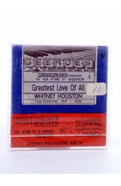 "Muestra 1 de GREATEST LOVE OF ALL (Whitney Houston) Geerdes Midisystem 1989. DISKETTE 35"". ATARI MSDOS. MIDI"