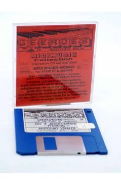 """Cubierta de DIE 4 JAHRESZEITEN -FRÜHLING (Vivaldi) Geerdes Midisystem 1989. DISKETTE 35"""". ATARI MSDOS. MIDI"""