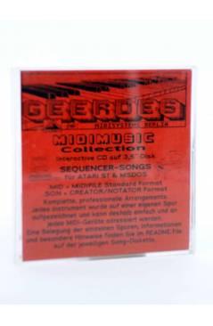 "Contracubierta de DIE 4 JAHRESZEITEN -FRÜHLING (Vivaldi) Geerdes Midisystem 1989. DISKETTE 35"". ATARI MSDOS. MIDI"