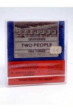 "Muestra 1 de TWO PEOPLE (Tina Turner) Geerdes Midisystem 1989. DISKETTE 35"". ATARI MSDOS. MIDI MUSIC"