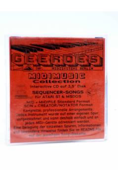 "Contracubierta de YOU ARE THE SUNSHINE OF MY LIFE (Stevie Wonder) Geerdes Midisystem 1989. DISKETTE 35"". ATARI MSDOS"
