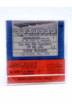 "Muestra 1 de YOU ARE THE SUNSHINE OF MY LIFE (Stevie Wonder) Geerdes Midisystem 1989. DISKETTE 35"". ATARI MSDOS"