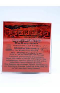 "Contracubierta de HELLO (Lionel Richie) Geerdes Midisystem 1989. DISKETTE 35"". ATARI MSDOS. MIDI MUSIC"