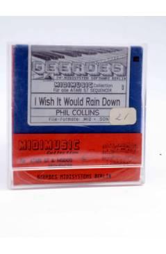 "Muestra 1 de I WISH IT WOULD RAIN DOWN (Phil Collins) Geerdes Midisystem 1989. DISKETTE 35"". ATARI MSDOS. MIDI"