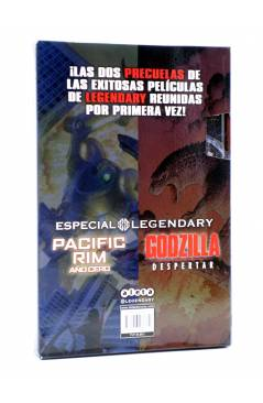 Contracubierta de ESTUCHE LEGENDARY: PACIFIC RIM AÑO CERO / GODZILLA DESPERTAR (Vvaa) Aleta 2014