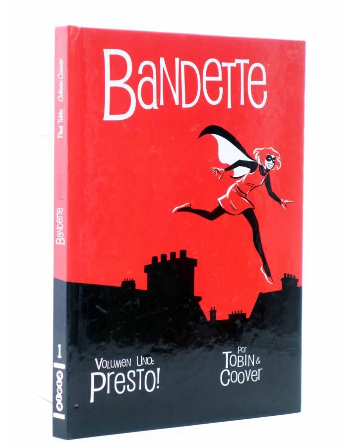 Cubierta de BANDETTE VOL. 1. PRESTO (Tobin Coover) Aleta 2014