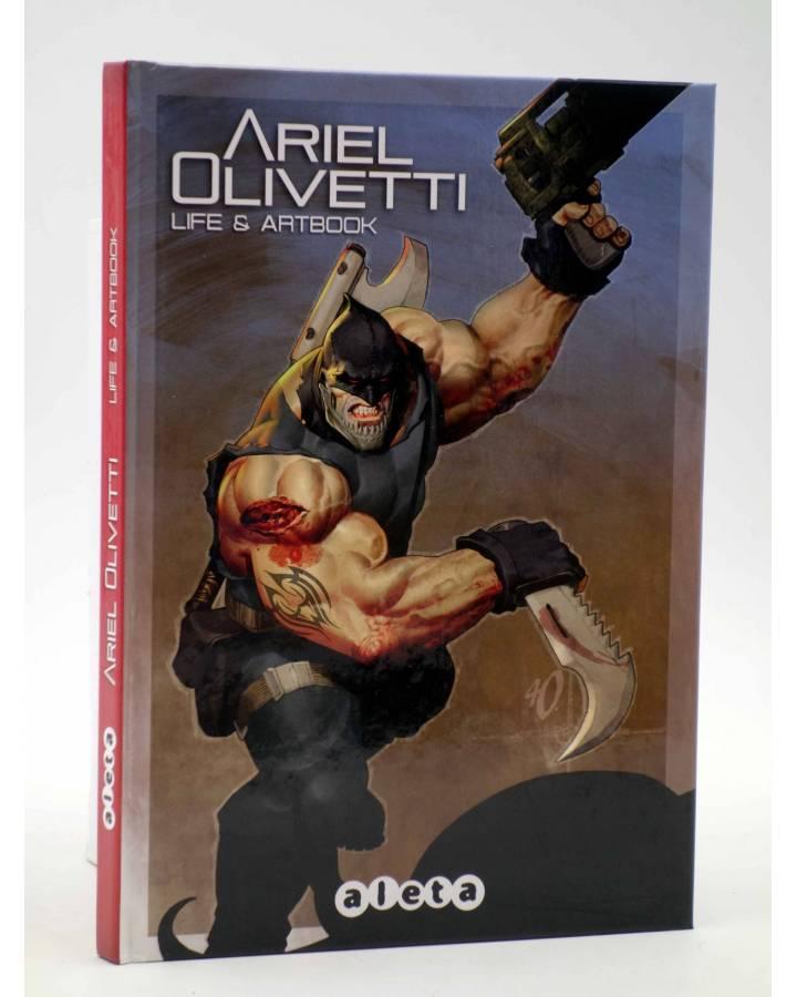 Cubierta de LIFE & ARTBOOK (Ariel Olivetti) Aleta 2013