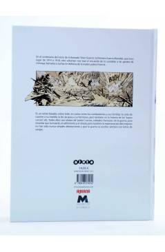 Contracubierta de AIÒ ZITELLI! CÓRCEGA Y LA GRAN GUERRA (Bertocchini / Holgado / Marko) Aleta 2014