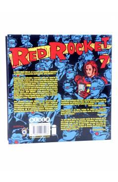 Contracubierta de RED ROCKET 7 (Mike Allred) Aleta 2014