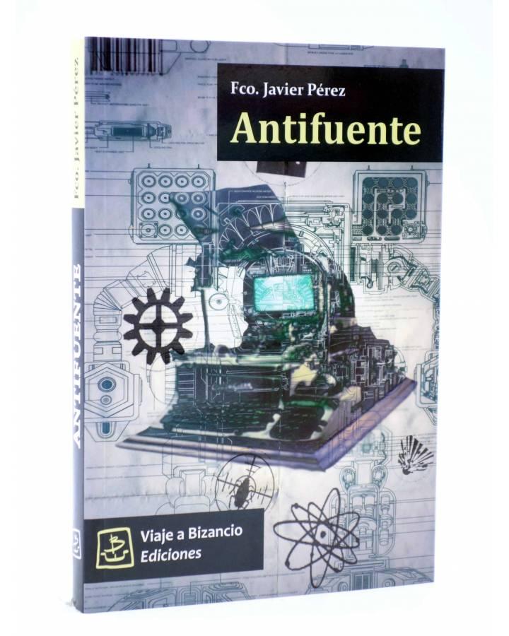Cubierta de ANTIFUENTE (Fco. Javier Pérez) Viaje a Bizancio 2008