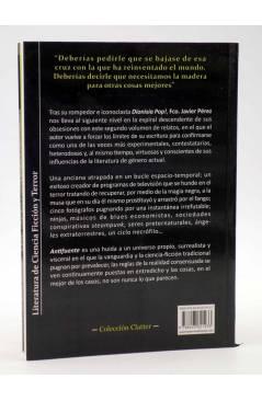 Contracubierta de ANTIFUENTE (Fco. Javier Pérez) Viaje a Bizancio 2008
