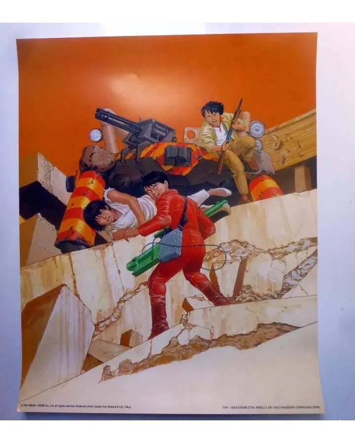 Cubierta de POSTER AKIRA REF: 754/4. 50x40 cm (Katsuhiro Otomo) 1000 Editions 2001