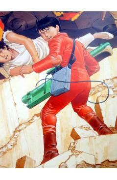 Contracubierta de POSTER AKIRA REF: 754/4. 50x40 cm (Katsuhiro Otomo) 1000 Editions 2001