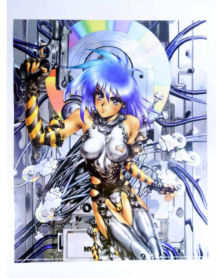 Cubierta de POSTER THE GHOST IN THE SHELL REF: 586. 50x40 cm (Masamune Shirow) 1000 Editions 2000