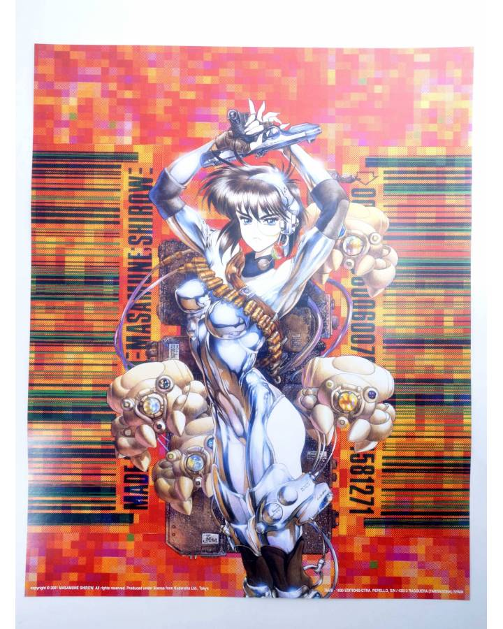 Cubierta de POSTER THE GHOST IN THE SHELL REF: 765/B. 50x40 cm (Masamune Shirow) 1000 Editions 2000