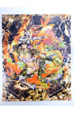 Cubierta de POSTER THE GHOST IN THE SHELL REF: 765/C. 50x40 cm (Masamune Shirow) 1000 Editions 2000