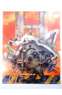 Contracubierta de LOTE 7 POSTERS THE GHOST IN THE SHELL. 40X50 cm (Masamune Shirow) 1000 Editions 2000