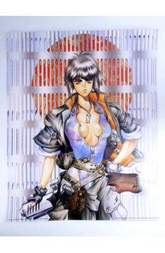 Muestra 4 de LOTE 7 POSTERS THE GHOST IN THE SHELL. 40X50 cm (Masamune Shirow) 1000 Editions 2000