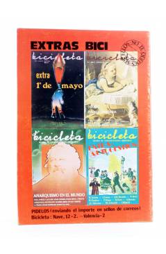 Contracubierta de BICICLETA. REVISTA DE COMUNICACIONES LIBERTARIAS 21. NOAM CHOMSKY (Vvaa) Barcelona 1978