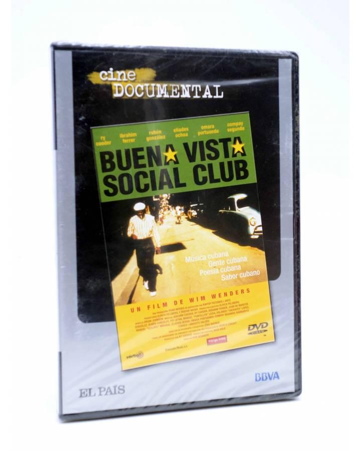 Cubierta de DVD CINE DOCUMENTAL. BUENA VISTA SOCIAL CLUB (Wim Wenders) El País 2007