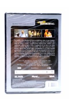 Contracubierta de DVD CINE DOCUMENTAL. BUENA VISTA SOCIAL CLUB (Wim Wenders) El País 2007