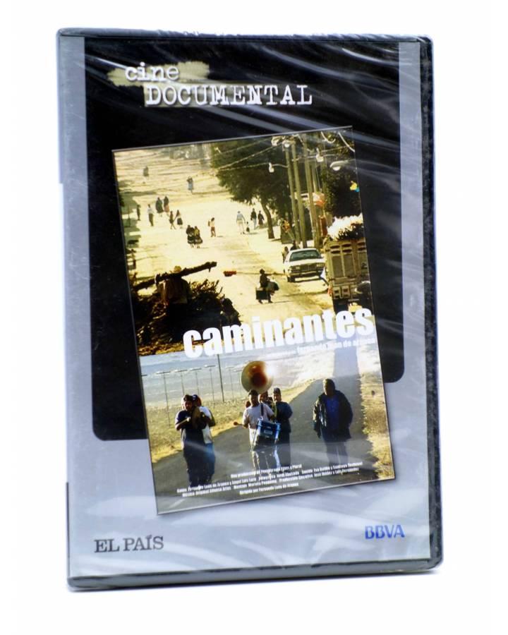 Cubierta de DVD CINE DOCUMENTAL. CAMINANTES (Fernando León De Aranoa) El País 2007