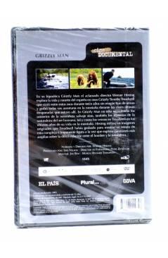 Contracubierta de DVD CINE DOCUMENTAL. GRIZZLY MAN (Werner Herzog) El País 2007