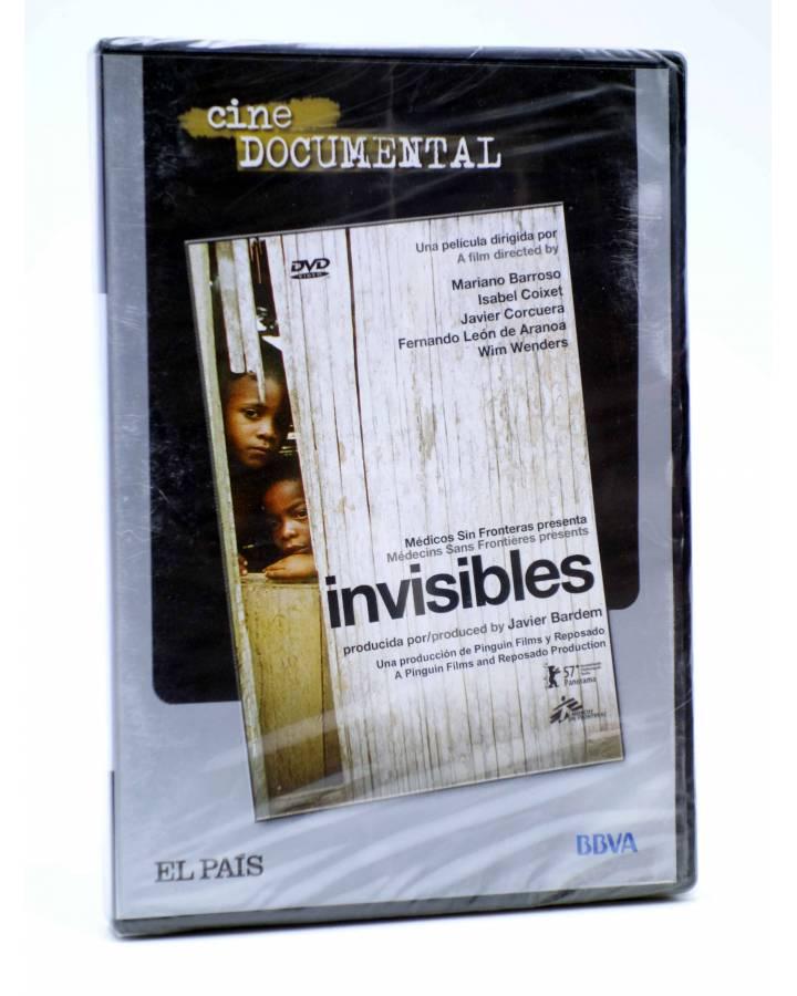 Cubierta de DVD CINE DOCUMENTAL. INVISIBLES (Mariano Barroso / Isabel Coixet / Javier Corcuera / Fernando León De Aranoa