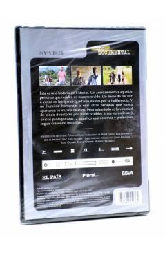 Contracubierta de DVD CINE DOCUMENTAL. INVISIBLES (Mariano Barroso / Isabel Coixet / Javier Corcuera / Fernando León De