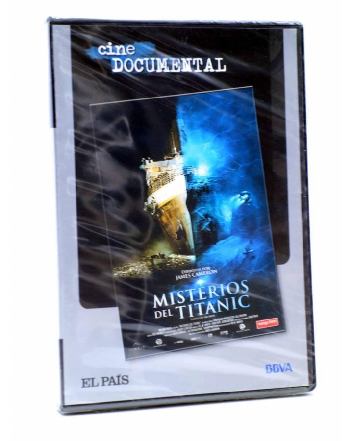 Cubierta de DVD CINE DOCUMENTAL. LOS MISTERIOS DEL TITANIC (James Cameron) El País 2007