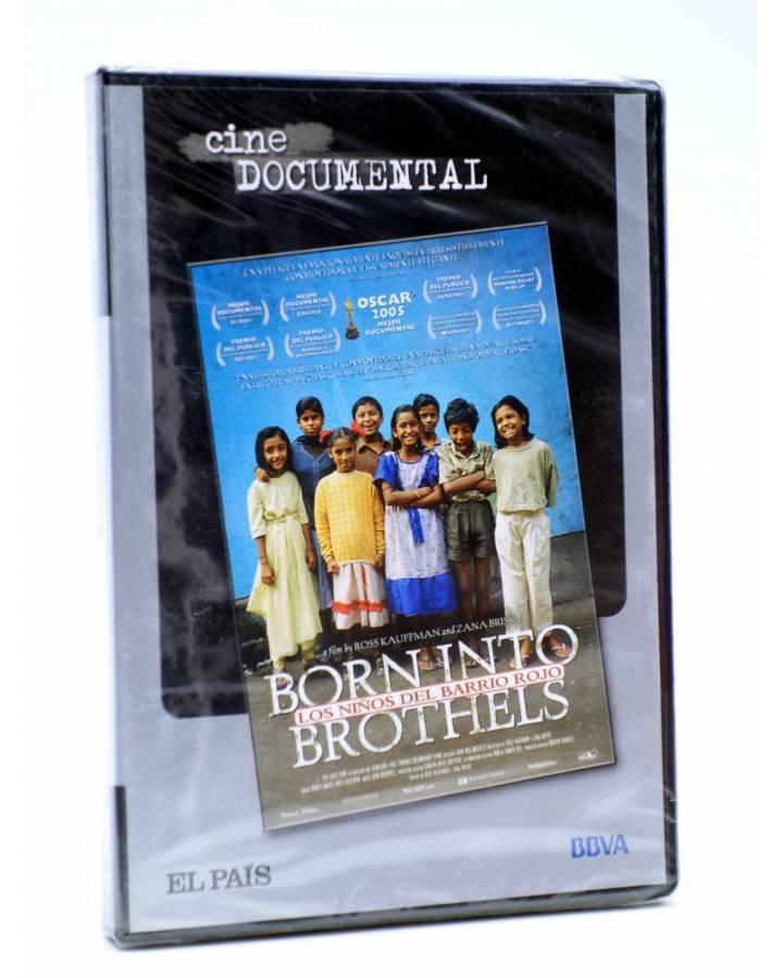 Cubierta de DVD CINE DOCUMENTAL. LOS NIÑOS DEL BARRIO ROJO (Ross Kauffman / Zana Briski) El País 2007