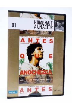 Cubierta de DVD HOMENAJE A UN ACTOR: JAVIER BARDEM 1. ANTES QUE ANOCHEZCA (Julian Schnabel) El País 2008