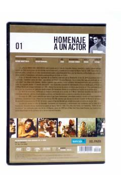 Contracubierta de DVD HOMENAJE A UN ACTOR: JAVIER BARDEM 1. ANTES QUE ANOCHEZCA (Julian Schnabel) El País 2008