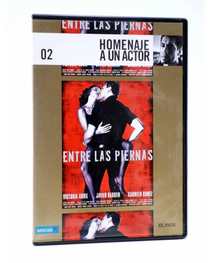 Cubierta de DVD HOMENAJE A UN ACTOR: JAVIER BARDEM 2. ENTRE LAS PIERNAS (Manuel Gómez Pereira) El País 2008