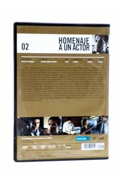 Contracubierta de DVD HOMENAJE A UN ACTOR: JAVIER BARDEM 2. ENTRE LAS PIERNAS (Manuel Gómez Pereira) El País 2008