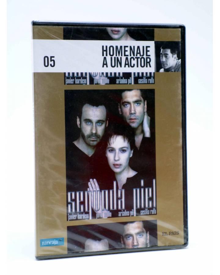 Cubierta de DVD HOMENAJE A UN ACTOR: JAVIER BARDEM 5. SEGUNDA PIEL (Gerardo Vega) El País 2008