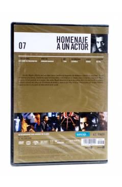 Contracubierta de DVD HOMENAJE A UN ACTOR: JAVIER BARDEM 7. LOS LOBOS DE WASHINGTON (Mariano Barroso) El País 2008