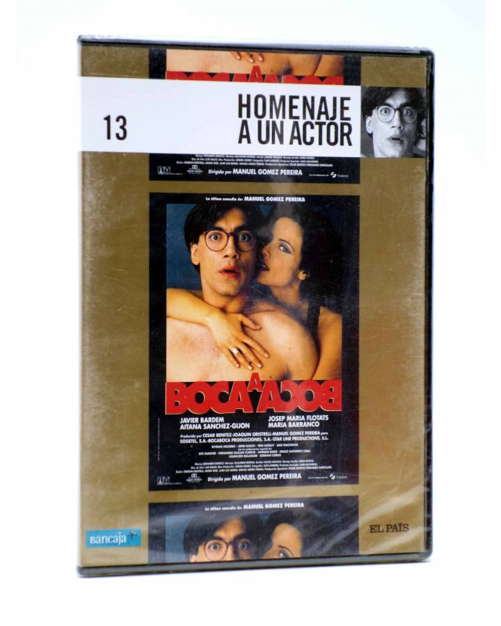 Cubierta de DVD HOMENAJE A UN ACTOR: JAVIER BARDEM 13. BOCA A BOCA (Manuel Gómez Pereira) El País 2008