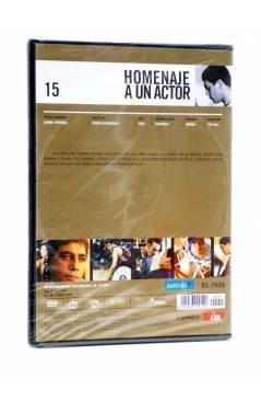 Contracubierta de DVD HOMENAJE A UN ACTOR: JAVIER BARDEM 15. CARNE TRÉMULA (Pedro Almodóvar) El País 2008