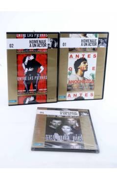 Cubierta de DVD HOMENAJE A UN ACTOR: JAVIER BARDEM. LOTE DE 3 PELÍCULAS (Vvaa) El País 2008