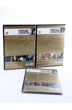 Contracubierta de DVD HOMENAJE A UN ACTOR: JAVIER BARDEM. LOTE DE 3 PELÍCULAS (Vvaa) El País 2008