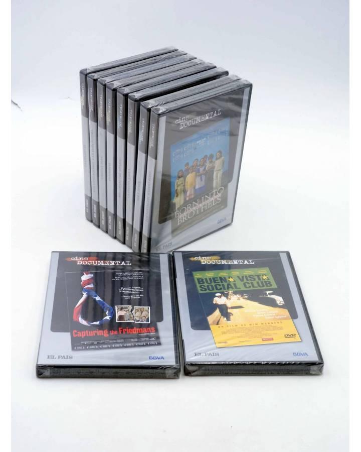 Cubierta de DVD CINE DOCUMENTAL. COLECCIÓN COMPLETA 10 DVD (Vvaa) El País 2007